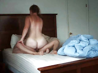 milf fucked in a bedroom