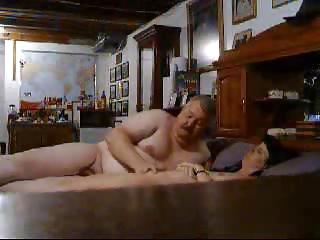 hidden cam caught daddy pushing dildo my lady