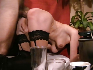 lady obtains her ass banged and obtains a facial