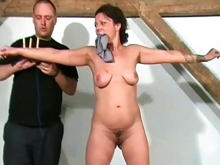 grown-up slaves sadistic workout and punishment