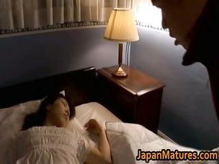 older japanese girl gets fingered