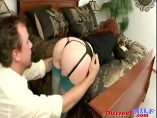 naughty rufous milf obtains it up the ass