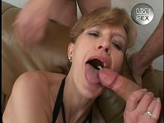 delightful sperm facial for older angel