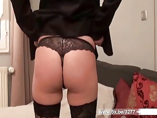 french grown-up girl gina analfucked into