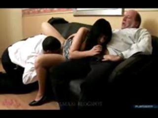 grandpa threesome
