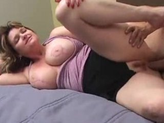 busty mature gets her protein