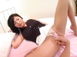 japanese wife inside stocking
