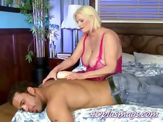 mother hired a stud to please with