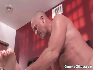 awesome geeky male and angel are kissing part2