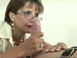 cougar femdom bondage fetish cock sucking