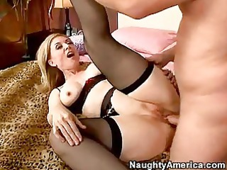 awesome momma nina hartley acquiring screwed very