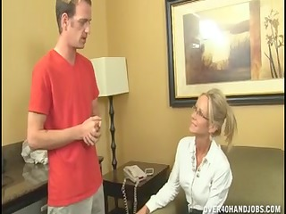 wicked cougar chick cant live without jerking