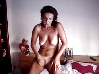 masturbation grown-up standing jill off