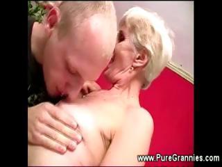 toothless elderly cock sucking