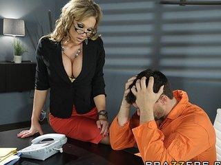 hot big-boob brunette milf lawyer nikki sexx