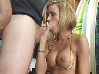 hot surfer chick (store fuck)