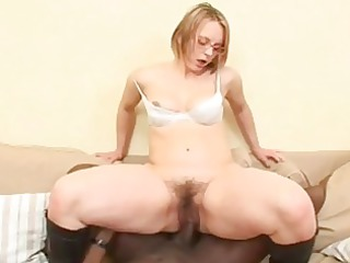interracial hair pie gang drill with grownup magda