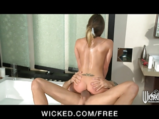 wicked busty maiden rima roxx is banged in her