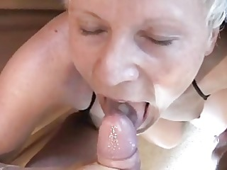 a camping trip with a bleached slutty mature