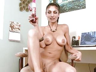 extremely impressive mature babe titfucks your