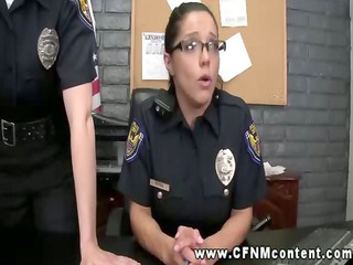slutty police ladies find their targets and want