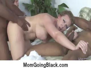 horny awesome mature lady taking huge brown