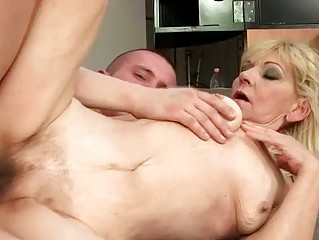 elderly with bushy kitty obtaining fucked