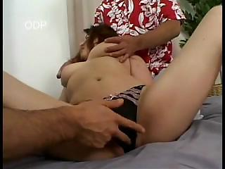 busty japanese mature babe fisted and squirt