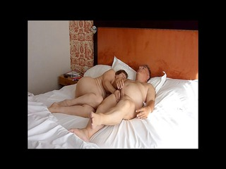 hubby sucked and masturbated by his older