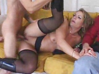 mature cougar attacks fresh stud