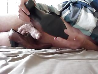 sperm in wifes black labor shoe