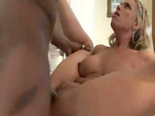 cock-hungry momma gets an extreme kitty piercing