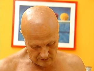 young slut piercing a grandpa