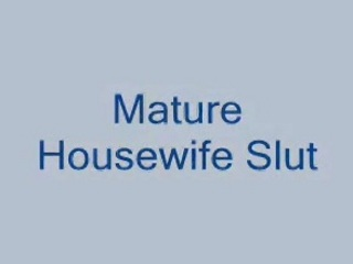 middle age housewife wife mom mommy fuck infront