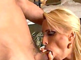 mommy exposes off her huge tits before acquiring