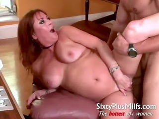 wonderful hot girl does muscle male