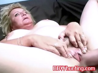 older bbw girl gives