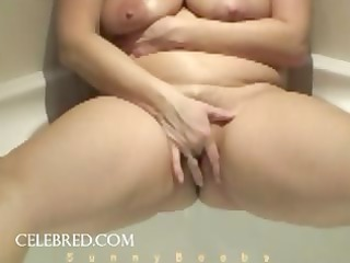 pleasure in the bathtub ancient chubby young slut