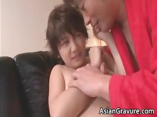 busty eastern belle takes jizzed after part3
