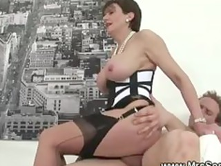 cheating lady obtains super forbidden fuck inside