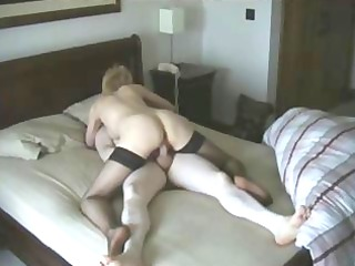 a milf into her 40s