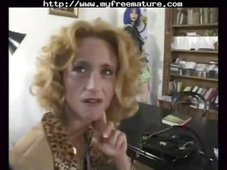 yves le castel likes in the butt mature cougar