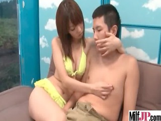 super sweet japanese cougar babe fuck tough