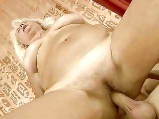 busty grandma acquiring fucked gorgeous uneasy