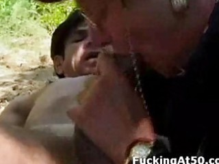 old fashion freaky old obtains vagina licked and