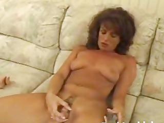 grownup angel pleasing hirsute pussy