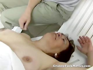 grannie talked in fucking