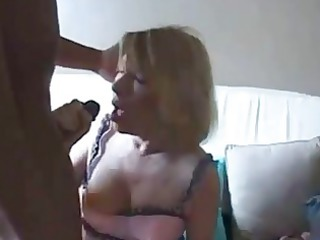 nasty grandma gets ghetto brown penis