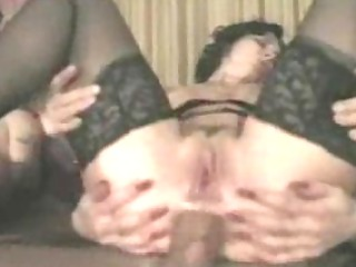 dirty bitch screaming bottom gaping threesome