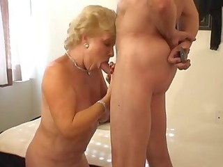 sweet goldenhaired old smokin porn